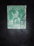 Stamps Belgium -  Animales Heraldicos