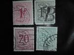 Stamps Belgium -  Leon Healdico/Escudo