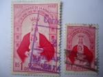 Sellos de America - Venezuela -  Tricentenario de la Aparición de Nuestra Señora de la Coromoto (1652-1952)