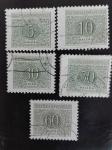 Sellos de Europa - Checoslovaquia -  Numero