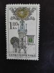 Sellos de Europa - Checoslovaquia -  Ciudades