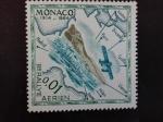 Sellos de Europa - Mónaco -  Aviones