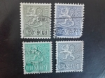 Stamps Finland -  Simbolo