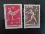 Stamps Finland -  Deporte