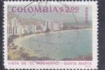 Sellos del Mundo : America : Colombia : VISTA DE ¨-ELRODADERO- SANTA MARTA