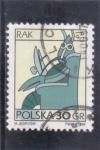 Stamps Poland -  SIGNOS DEL ZODIACO-CANCER