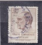Sellos de Asia - Turquía -  Mustafa Kemal Ataturk