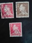 Stamps Denmark -  Rey Federico IX