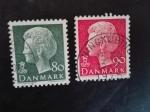 Stamps Denmark -  Reina Margarethe II