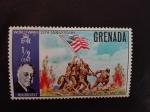 Sellos de America - Granada -  Aniversario