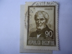 Stamps Argentina -  Guillermo Brown (1777-1857)- Padre de la Armada Argentina
