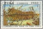 Stamps : America : Cuba :  Historia de la construcción naval cubana