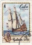 Stamps : America : Cuba :  Historia marítima: navega a través de los tiempos