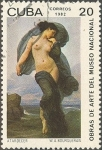 Stamps Cuba -  Pinturas del Museo Nacional