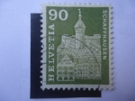 Sellos de Europa - Suiza -  Fortaleza de Munot (S.XVI) en la Ciudad de Schaffhausen