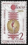 Sellos de Europa - Checoslovaquia -  Tokyo 1964