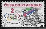 Sellos de Europa - Checoslovaquia -  Juegos Olimpicos 1984 - Los Angeles