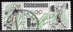 Sellos de Europa - Checoslovaquia -  Juegos Olimpicos 1988 - Calgary