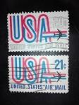 Sellos de America - Estados Unidos -  Air Mail