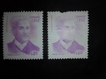 Stamps Chile -  Personajes
