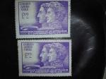 Stamps Chile -  Conmemoracion
