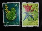 Sellos de Europa - Liechtenstein -  Planta