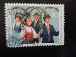 Sellos de Europa - Liechtenstein -  Danza