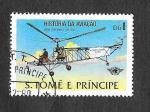 Sellos del Mundo : Africa : Santo_Tomé_y_Principe : Historia de la Aviación