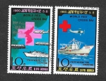 Stamps North Korea -  Día Mundial de la Cruz Roja