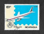 Stamps : America : Nicaragua :  Exposición Mundial Filatelica Estocolmo 86