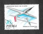 Stamps : Europe : Poland :  2752 - Campeonato Mundial de Acrobacia de Planeadores