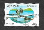 Sellos de Asia - Vietnam -  1799 - Hafnia´87