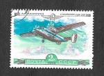 Stamps Russia -  Avión