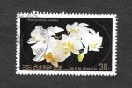 Sellos de Asia - Corea del norte -  2391 - Orquídea