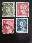 Stamps Australia -  Reina Elisabeth II