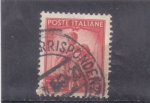 Stamps Italy -  familia