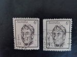 Stamps Australia -  Personajes