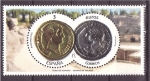 Stamps of the world : Spain :  numismática