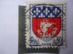 Sellos de Europa - Francia -  Paris - Escudo de Armas.