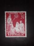 Sellos de Oceania - Australia -  Navidad
