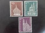 Sellos de Europa - Suiza -  Monumentos y Motivos Historicos