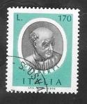 Stamps Italy -  1281 - Lorenzo Ghiberti, escultor, arquitecto, escritor de arte, orfebre