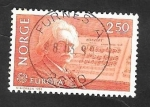 Stamps Norway -  841 - Europa Cept, Compositor Edvard Grieg