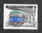Sellos de Europa - Hungría -  2017 - Metro de Budapest