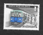 Sellos de Europa - Hungría -  Metro de Budapest