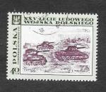Stamps Poland -  1612 - 25º Anviersario del Ejercito Popular Polaco (Pintura)