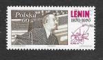 Stamps Poland -  Lenin