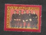 Sellos de Europa - Polonia -  1627 - 5º Congreso del Partido de los Trabajadores Polacos Unidos