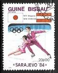 Sellos de Africa - Guinea Bissau -  Juegos Olimpicos de Invierno - Sarajevo 84