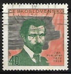 Sellos de Europa - Checoslovaquia -  Jan Preisler (1872-1918)